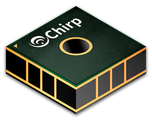Chirp CH-101 ToF sensor combines ultrasonic transducer with DSP